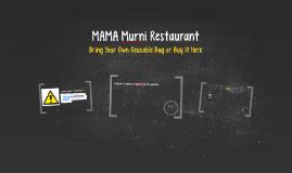 MAMA Murni Restaurant