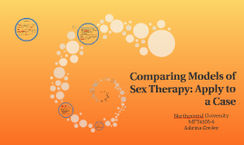 Apply to a Case: Comparing Models of Sex Therapy