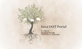 Iowa DOT Portal