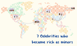 7.Celebrities who became rich as minors
