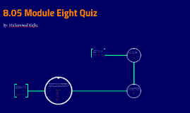 8.05 Module Eight Quiz