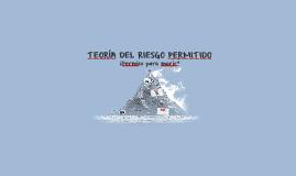 TEORÍA DEL RIESGO PERMITIDO