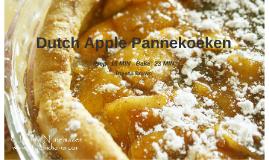 Dutch Apple Pannekoeken Bisquick