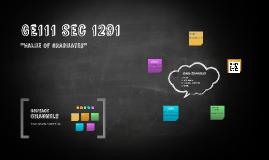 GE111 Sec 1291