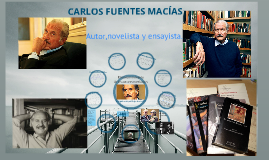 Copy of Carlos fuentes
