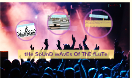 Sound Waves of the Flute