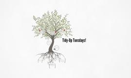 Tidy-Up Tuesdays!