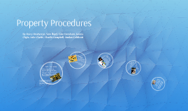 Property Procedures