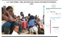 "LA ""DOCTRINA"" DEL ESTADO DE COSAS INCONSTITUCIONAL –ECI-"