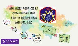 Analisis Foda de la comunidad N/A GRUPO Scout SAN MIGUEL 290