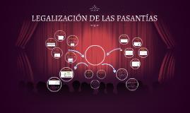 LEGALIZACIÓN DE LAS PASANTÍAS