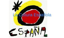 Copy of Cultura espanola
