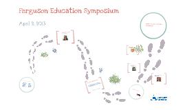 Education Symposium 2013