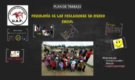 PLAN DE TRABAJO - POBLACIONES EN RIESGO SOCIAL