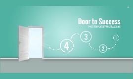 Copy of Door to Success - Prezi Template