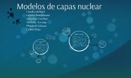 Modelos de capas nuclear