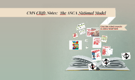 CMS- Cliff Notes:  The ASCA National Model