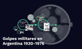 Golpes militares en Argentina