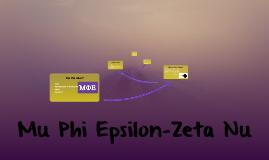 Mu Phi Epsilon