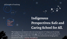 Indigenous Teachers Perspectives: Ensuring Space/Place for Every St