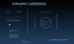 Cohesion y coherencia