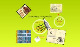 e-sketchbooks and portfolios