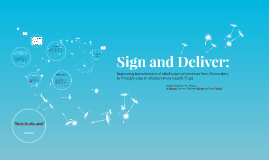 Sign and Deliver