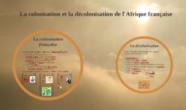 Le début de la colonisation française