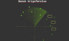Dansk krigsførelse