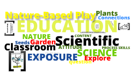 Scientific Education through Gardening and Nature-Based Play