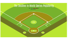 The Decline in World Series Popularity