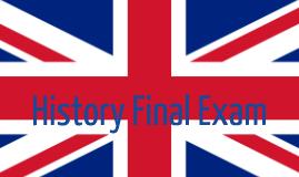 History Final Exam