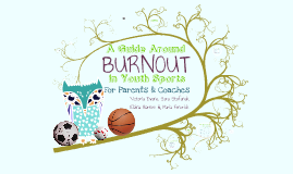 A Guide Around Burnout in Youth Sports