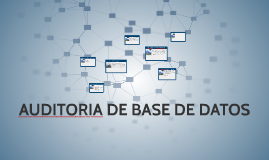 Copy of AUDITORIA DE BASE DE DATOS
