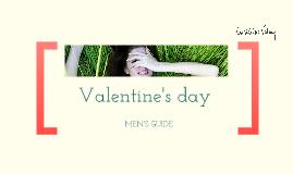 Christine Valmy Valentine's day, MEN'S GUIDE