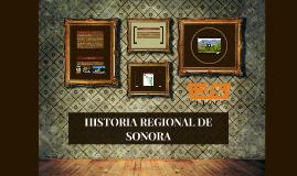 La geografía de Sonora