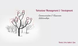 Behaviour Management & Development