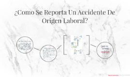 ¿Como Se Reporta Un Accidente De Origen Laboral?