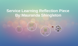 Service Learning Reflection Piece