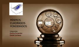 Copy of MINIMOS CUADRADOS PONDERADOS