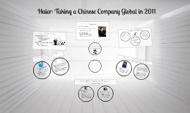 Haier: Taking a Chinese Company Global in 2011