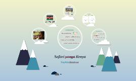 Safari yangu Kenya