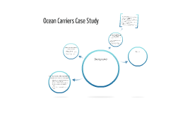 ocean carriers case study Ocean carriers case report edmund lo ecl88 2840681 note: apologies, i was out of state this weekend and had to complete on my own executive summary ocean carriers is evaluating a proposed lease for a ship over three years starting in 2003.