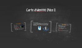 Carte d'identité (Pièce 1)