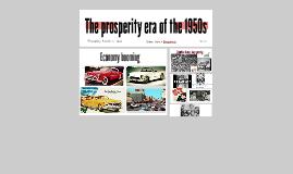 The 1950s Boom