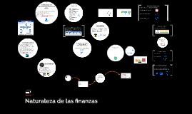 1. Naturaleza de las finanzas