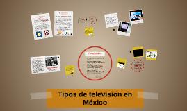 Tipos de televisión en México