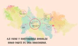 Copy of 4.3 Usos y costumbres sociales como parte de una comunidad.