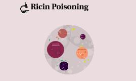 Ricin Poisoning