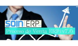 Flujo de Facturación SOIN|ERP v7.0